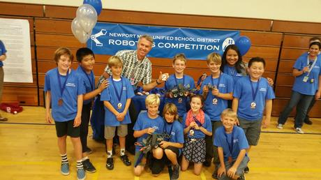 NHES Robotics Team Placed 2nd at the NMUSD 's 2016 Competition and Showcase